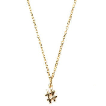 Meridian Avenue | Hashtag Necklace