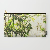 Bamboo for relaxation Carry-All Pouch by Tanja Riedel | Society6