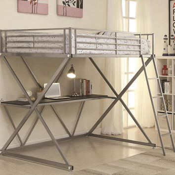 Zimmerman Full Size Study Loft Bed