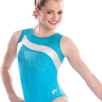 Aqua Paradise Leotard from GK Elite