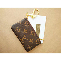 Louis Vuitton LV Hot Sale Monogram Canvas Key Pouch M62650