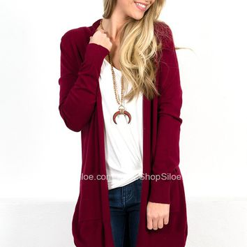 Ruby Pocket Soft Cardigan