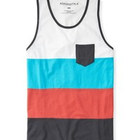 Colorblock Pocket Tank