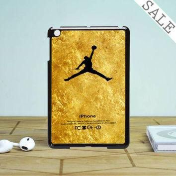 CREYUG7 Michael Jordan Golden Gold Pattern iPad Mini 2 Case