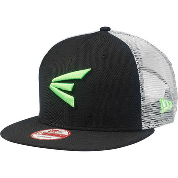 Easton M10 Gameday Cage Hat - Black Lime