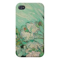 Van Gogh Roses Phone Case Cases For iPhone 4 from Zazzle.com