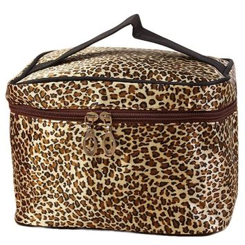 Makeup Case Leopard Print