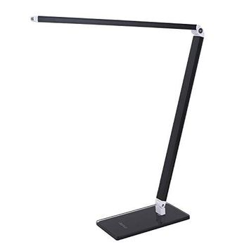 Folding LED Desk Lamp, Eye-caring Dimmable Office Table Light, 6W Touch Control