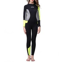 One-piece Diving Suit Surfing Wetsuit 3mm    XS