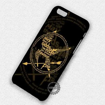 May The Odds Katniss Hunger Games Catching Fire - iPhone 7 6 5 SE Cases & Covers
