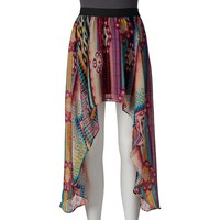 Joe B Extreme High-Low Skirt - Juniors, Size: