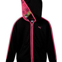 PUMA | Hoodie with Contrast Taping (Big Girls) | Nordstrom Rack