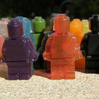 Gourmet Soap - Made to Order Army of Lego Dudes
