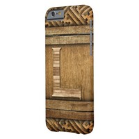 """Monogram """"L"""" Casemate IPhone 6 Barely There Case Barely There iPhone 6 Case"""