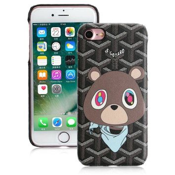 Graduation Bear x Goyard iPhone 7/7+ Case Replica