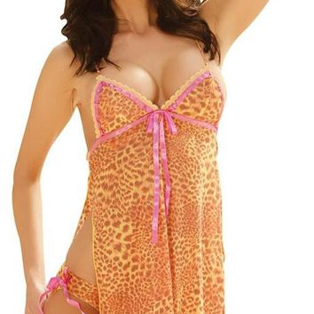 Babydoll Print with Panty 3X