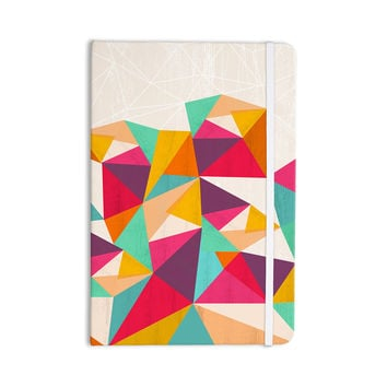 "Kathleen Kelly ""Diamond"" Geometric Pink Everything Notebook"