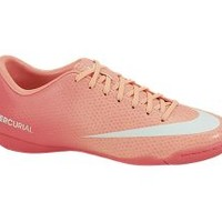 The Nike Mercurial Victory IV Indoor-Competition Women's Soccer Cleat.