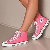 """Converse"" Fashion Canvas Flats Sneakers Sport Shoes Hight tops Pink"