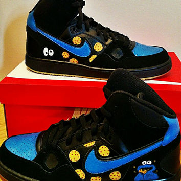 Men's Cookie Monster Nike Air Shoes