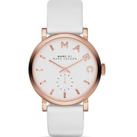 MARC BY MARC JACOBS White Baker Watch, 36mm
