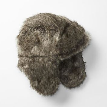 Gap Girls Furry Trapper Hat