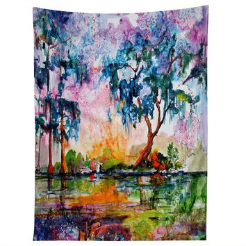 Ginette Fine Art Garden Of Good And Evil Savannah GA Tapestry