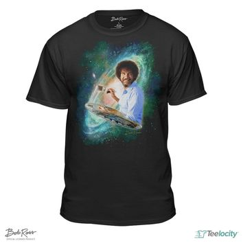 Bob Ross The Joy of Painting Galaxy T-shirts & Hoodies