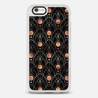 Art Deco Leaves - Black iPhone 6s case by Elisabeth Fredriksson | Casetify