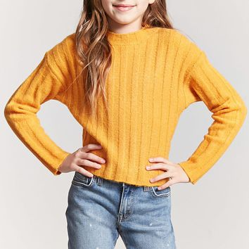 Girls Mock Neck Sweater (Kids)
