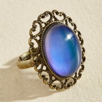 Feeling the Turn Color-Changing Ring | Mod Retro Vintage Rings | ModCloth.com