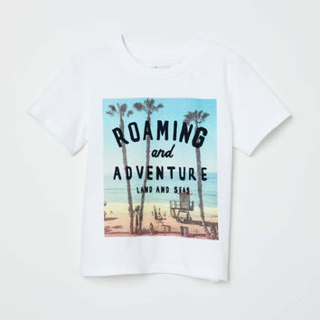 H&M T-shirt with Printed Design $9.99