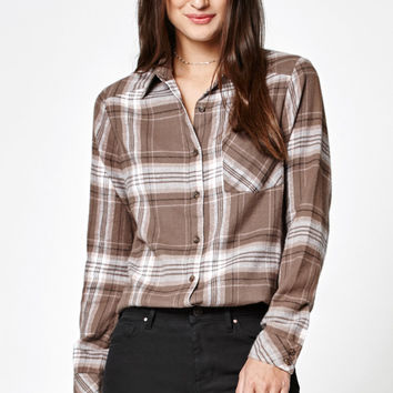 RVCA Jig 4 Flannel Button-Down Shirt at PacSun.com