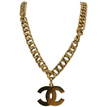 Chanel CC logo Gold tone Necklace - Belt