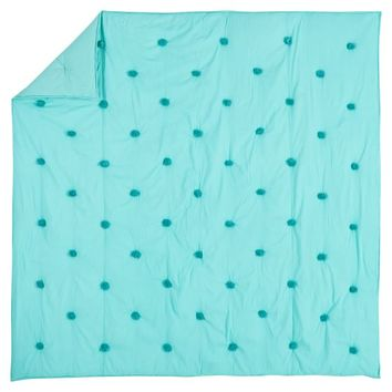 CRINKLE PUFF QUILT, TWIN, POOL