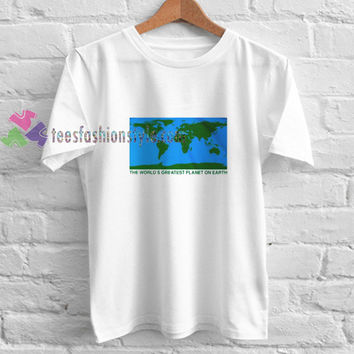 Greatest Planet t shirt gift tees unisex adult cool tee shirts buy cheap