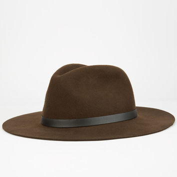 Peter Grimm Caspian Mens Hat Dark Brown One Size For Men 25660844601