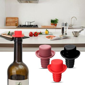 Small Hat Fresh Beer Bottle Stopper Wine Stopper Bottle Closures