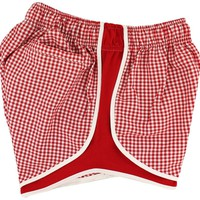 Shorties Shorts in Red Gingham by Lauren James - FINAL SALE