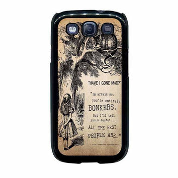 alice in wonderland bonkers case for samsung galaxy s3 s4