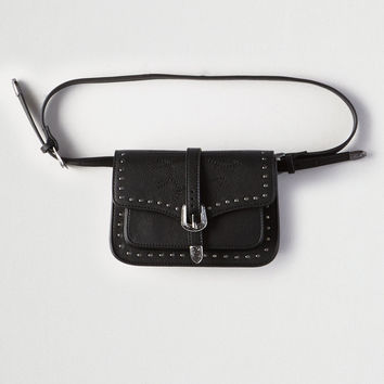 AEO Western Belt Bag, Black