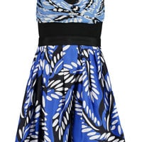 Diane von Furstenberg Sita printed cotton and silk-blend mini dress – 55% at THE OUTNET.COM