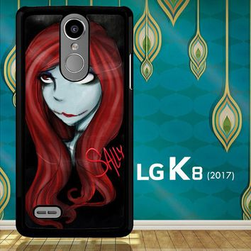 Sally The Nightmare Before Christmas Y0861 LG K8 2017 / LG Aristo / LG Risio 2 / LG Fortune / LG Phoenix 3  Case