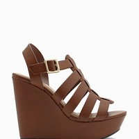 Ansa Wanderlust Strappy Wedge