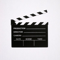 Cinema Clapperboard - limited edition screenprint