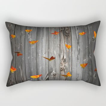 Let us in... Rectangular Pillow by Azima