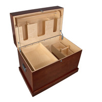 Dover's Hardwood Trunk with Bandage Lid | Dover Saddlery