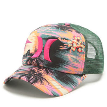 Hurley Floral Trucker Hat at PacSun.com