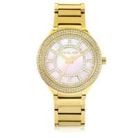 Michael Kors Designer Women's Watches Kerry Gold Tone Stainless Steel Women's Watch