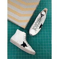 Ggdb Golden Goose Francy Zip White Black Sneakers